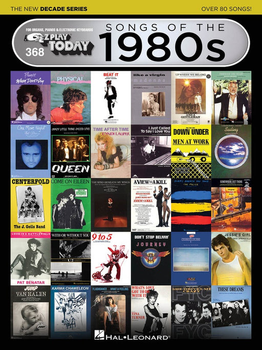 EZ Play 368 Songs of the 1980s - The New Decade Series