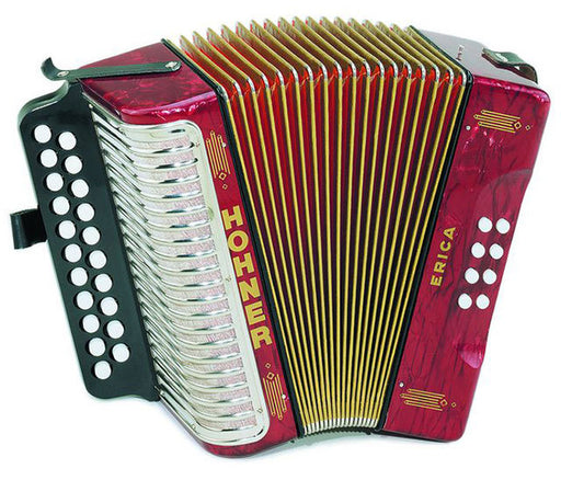 Hohner Erica D/G Diatonic Accordion