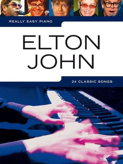 Really Easy Piano Elton John by