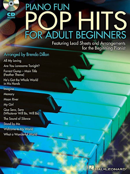 Piano Fun Pop Hits for Adult Beginners Book/Cd