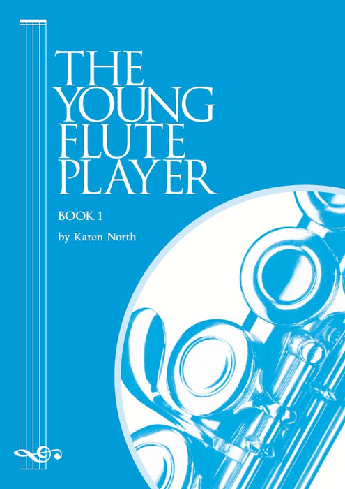 Young Flute Player by Karen North