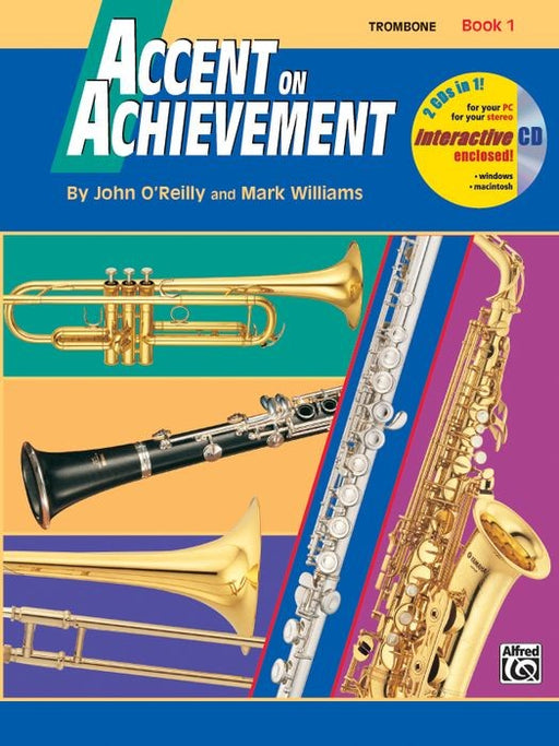 Accent on Achievement Trombone Book
