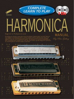 Complete Learn to Play Harmonica Manual by Peter Gelling by