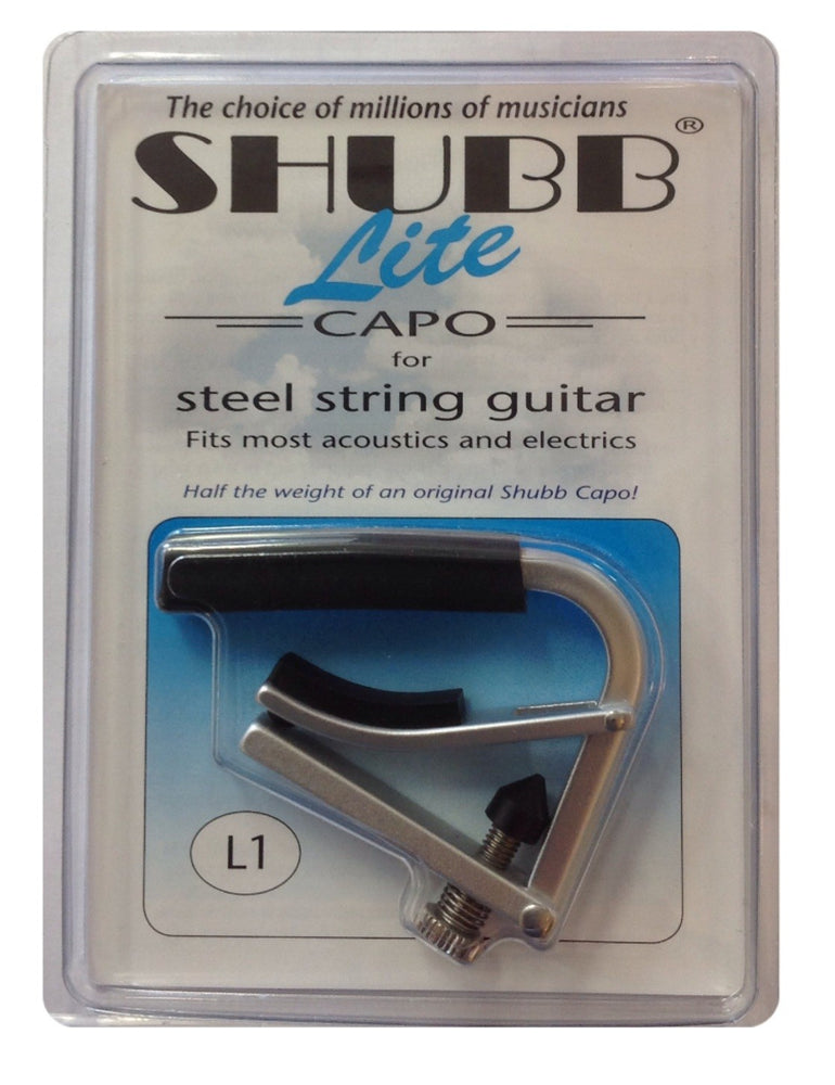 Shubb Lite Capo for Acoustic Guitar