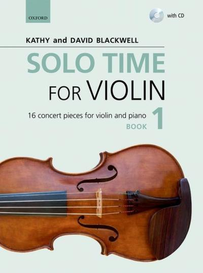 Solo Time for Violin Book with CD