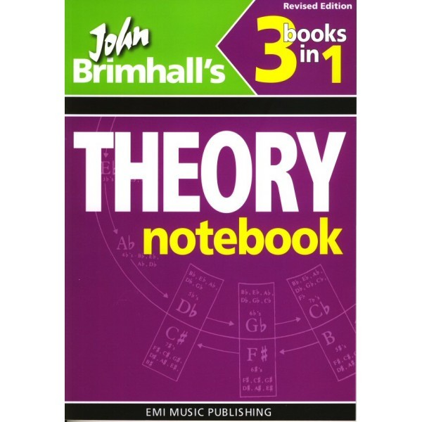 Theory Notebook Three in One  John Brimhall