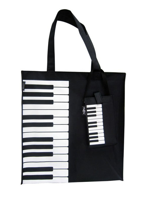 Vinyl Music Bag Piano Keyboard Design