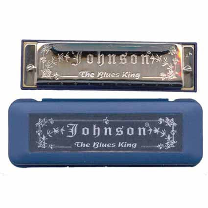 Blues Harmonica 10 Holes by Johnson by