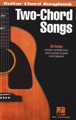 Guitar Chord Songbook -Two Chord Songs