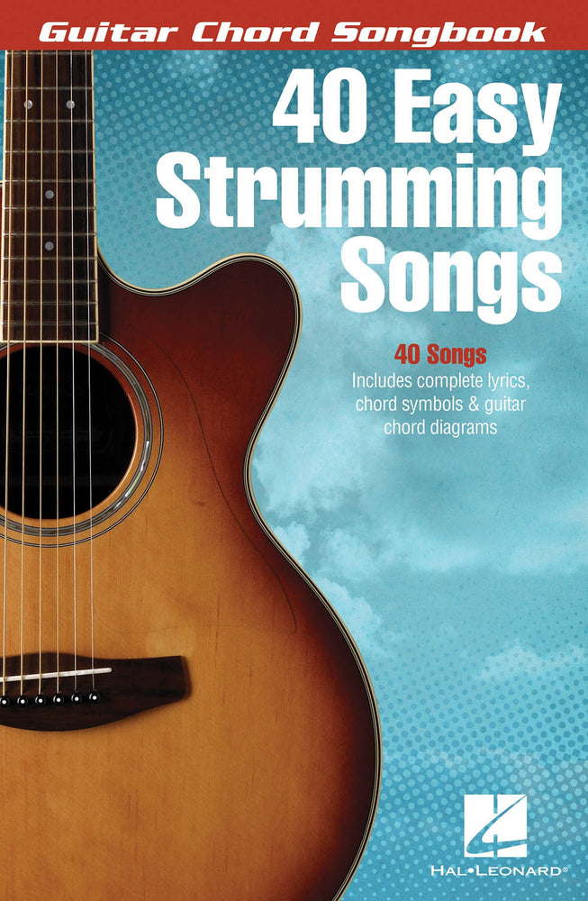 Guitar Chord Songbook - 40 Easy Strumming Songs