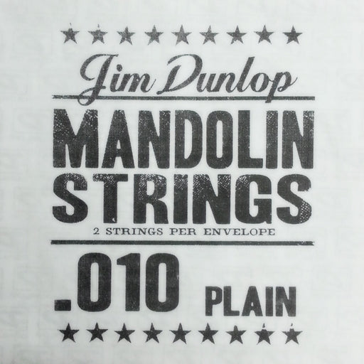 Dunlop Mandolin Single Strings .010 Plain