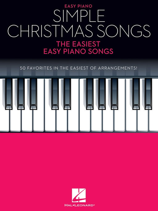 Simple Christmas Songs for Easy Piano