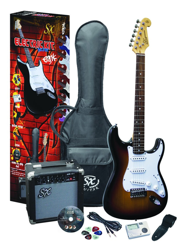 Beginners Electric Guitar and  Amp Package