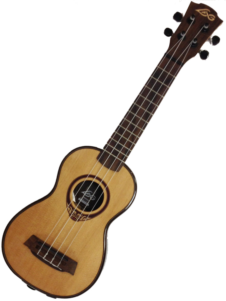 Lag Electric/Acoustic Soprano Ukulele