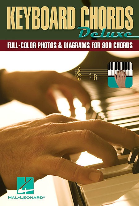 Learn to Play 900 Piano Keyboard Chords Deluxe  Easy To Read  with Full Colour Photos