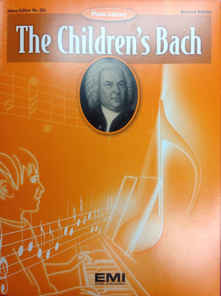 Children's Bach Simple Piano Music