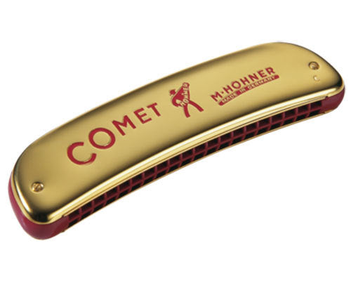 Hohner Comet 40 Reed Octave Tuned Harmonica in the Key of C