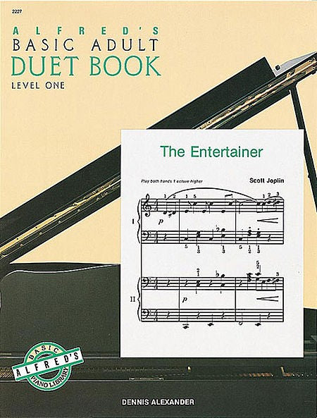 Alfred's Basic Adult Duet Book - Level 1