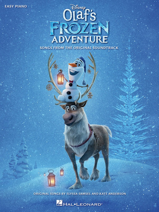 Olaf's Frozen Adventure Easy Piano