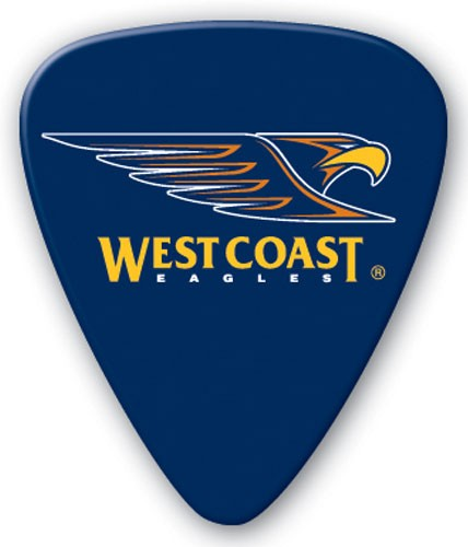 AFL Guitar Picks West Coast Eagles