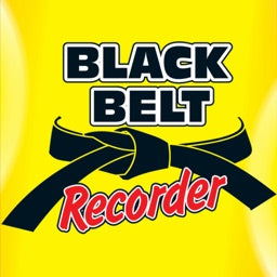 Black Belt Recorder - Student Book with Audio