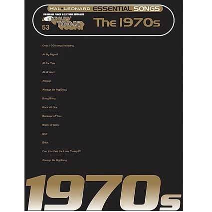 Ez Play Essential Songs of the 1970s by Hal Leonard