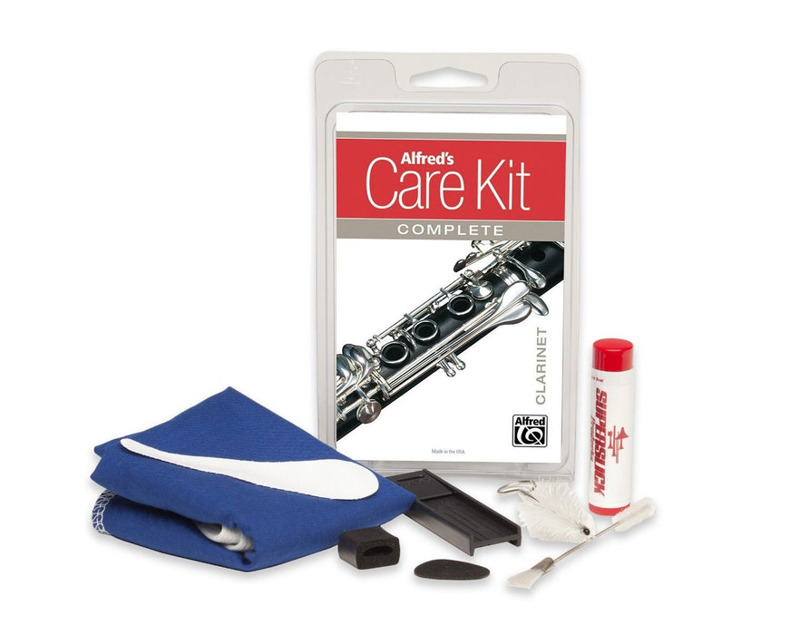 Complete Care Kit for Clarinet Alfred