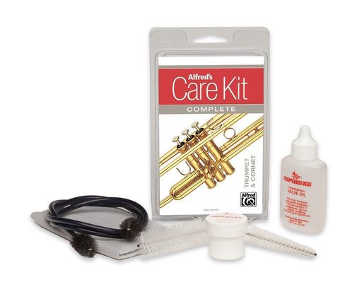 Complete Care Kit for Trumpet with Valve Oil