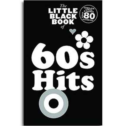 Little Black Songbook of 60s Hits by