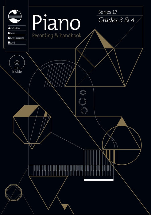 AMEB Piano Series 17 - CD and Recording Handbook