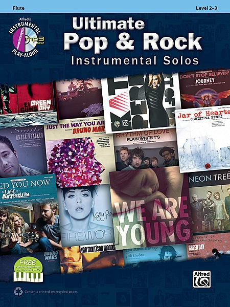 Ultimate Pop & Rock Instrumental Solos Flute