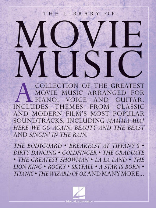 The Library of Movie Music - Piano Vocal & Guitar