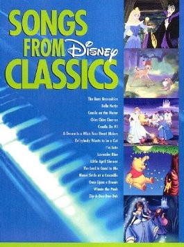Songs from Disney Classics Big-Note Piano