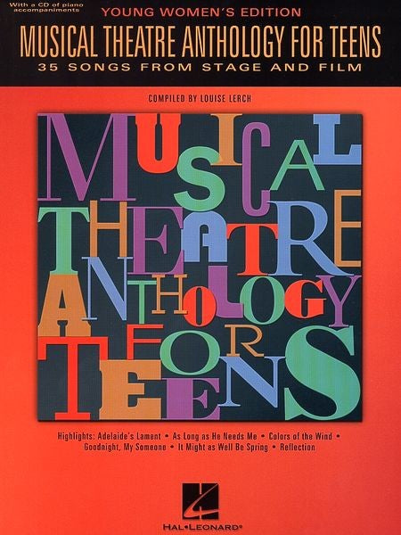 Musical Theatre Anthology for Teens Young Women's Edition by