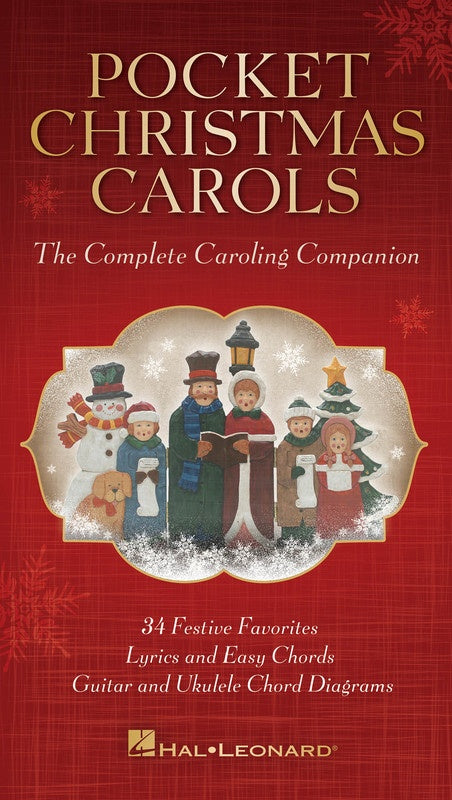 Pocket Christmas Carols Lyrics with Chord Diagrams