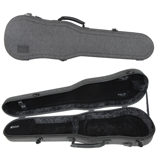 GEWA Bio-S Shaped Violin Case Grey Black