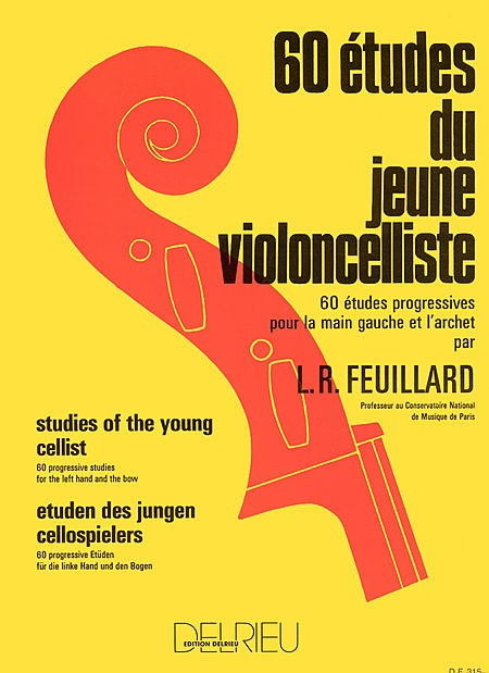 Feuillard 60 Studies for the Young Cellist