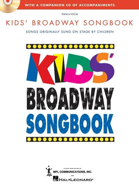 Kids' Broadway Songbook by