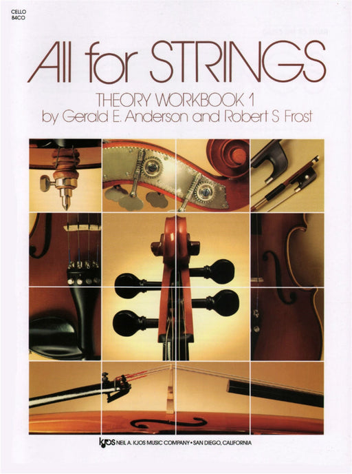 All for Strings Theory Workbook - Cello