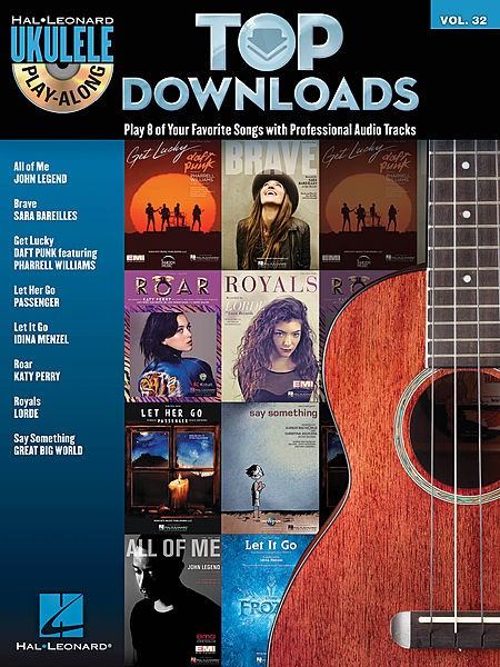 Top Downloads Ukulele Play-Along Volume 32
