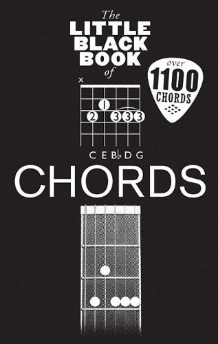 The Little Black Book of Chords for Guitar