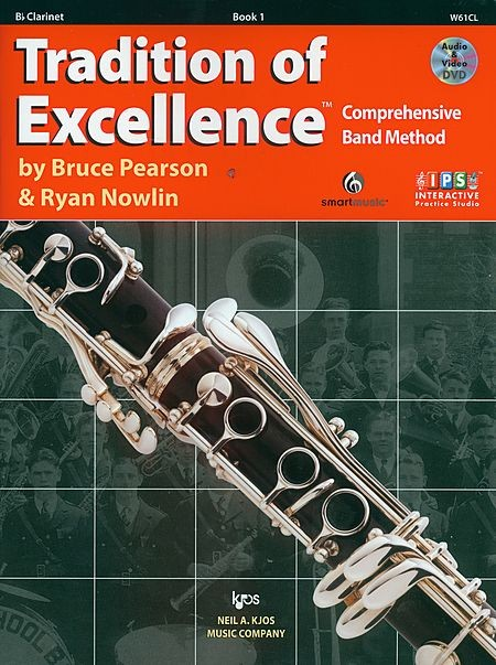 Tradition of Excellence Clarinet Book 1