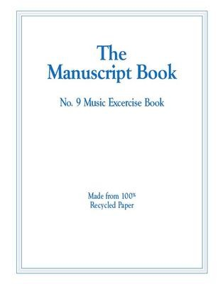 Manuscript Exercise Book 9 with Ruled Lines