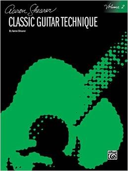 Aaron Shearer Classical Guitar Technique Book 1 with CD