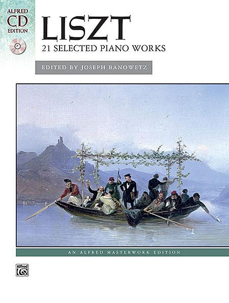 Liszt 21 Selected Piano Works