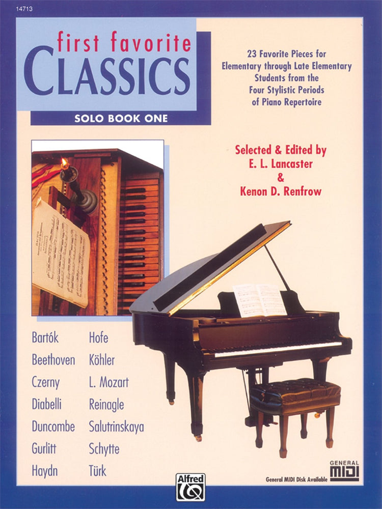 First Favourite Classics Solo Book 1