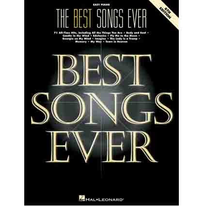 Best Songs Ever Easy Piano 6th edition by Hal Leonard