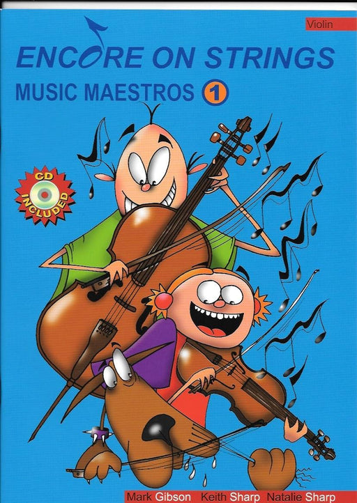 Encore on Strings Music Maestros Violin Book