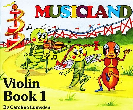 Musicland for Violin - Book 1