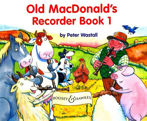 Old MacDonalds Recorder Book